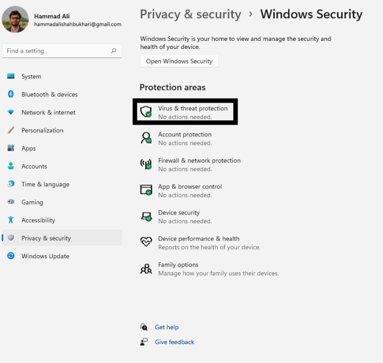 privacy and security Microsoft Windows Search Indexer High CPU Usage