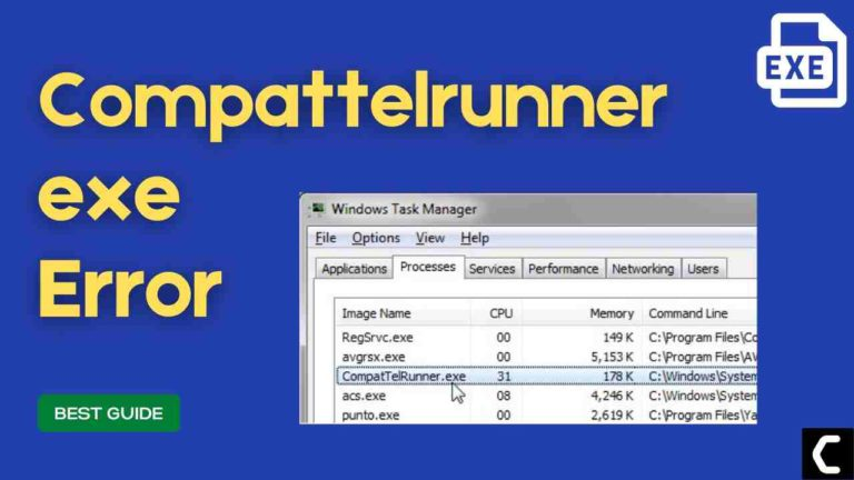 FIX: Microsoft Compatibility Telemetry? What is Compattelrunner.exe Process?