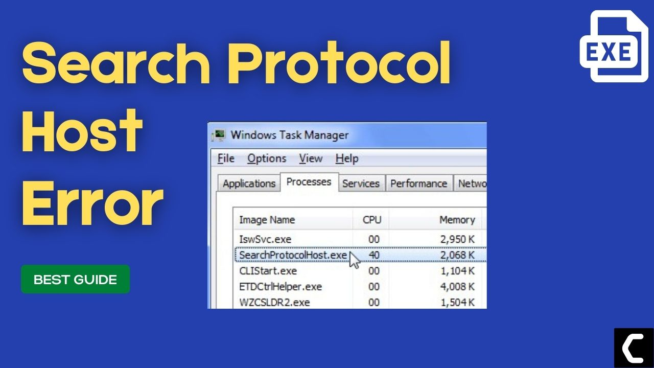 Fix: Searchprotocolhost.exe? What is Microsoft Windows Search Protocol Host?