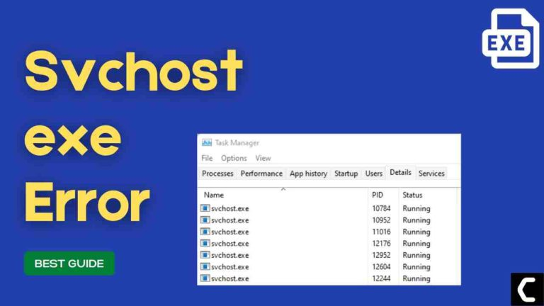 FIX: Service Host High CPU Usage? What is Svchost.exe?