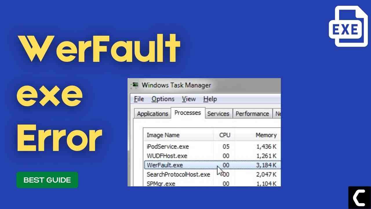 FIX: What Is Werfault.exe? Microsoft Windows Error Reporting Fault Reporter