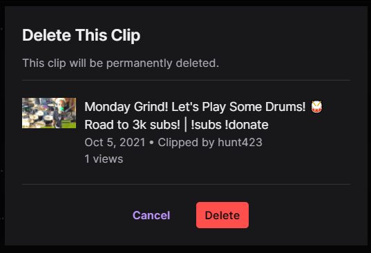 Delete this clips How to Clip on Twitch,Twitch clips,My twitch clips.