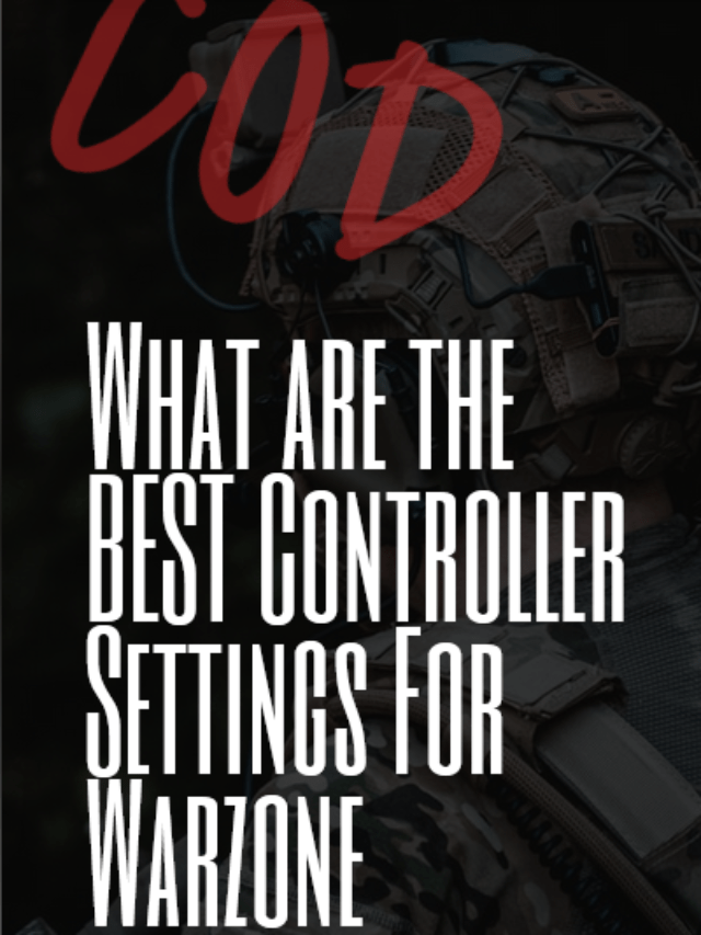 Best Controller Settings For Warzone?