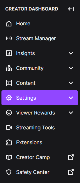craetor dashboard How to Save Streams on Twitch, Twitch save streams, twitch didn't save the broadcast